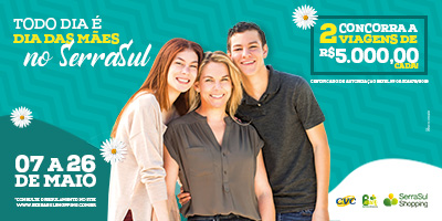 f98dee2597c2a Dia das Mães 2019 SerraSul Shopping